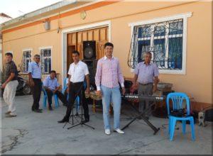 Üzbég lagzi zenészek