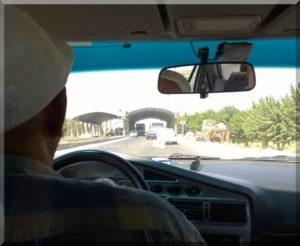 Üzbég megyehatár