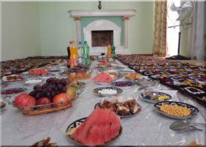 Üzbég vendégfogadó