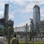 Moszkva city, a város üzleti negyede