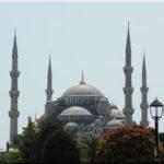 Ahmed szultán mecset, ismertebb nevén a kék mecset és a környéke