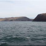 Amikor először megpillantottuk a Bajkál tavat. A többi kép már a kompon készült