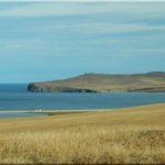 Olkhon sziget, a busz ablakából