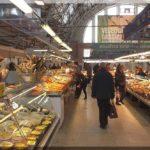 Rizsszkij pályaudvarnál található Rigai piac