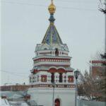 Szerafimo-Alexejevszkaja nevű kis kápolna. Az 1907-ben építették. A Lenin utca végén található, a Jubilejnij híd közvetlen közelében.