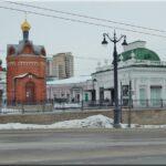 A Lenin utcában található Iverszkaja kápolna