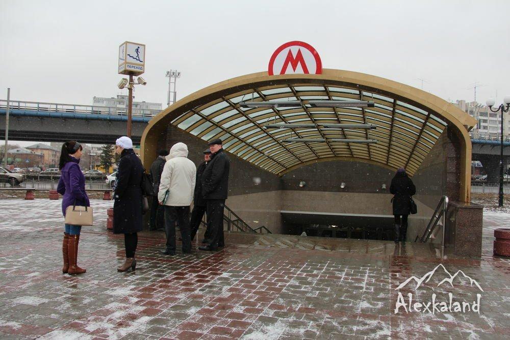 Az egyetlen elkészült omszki metróállomás