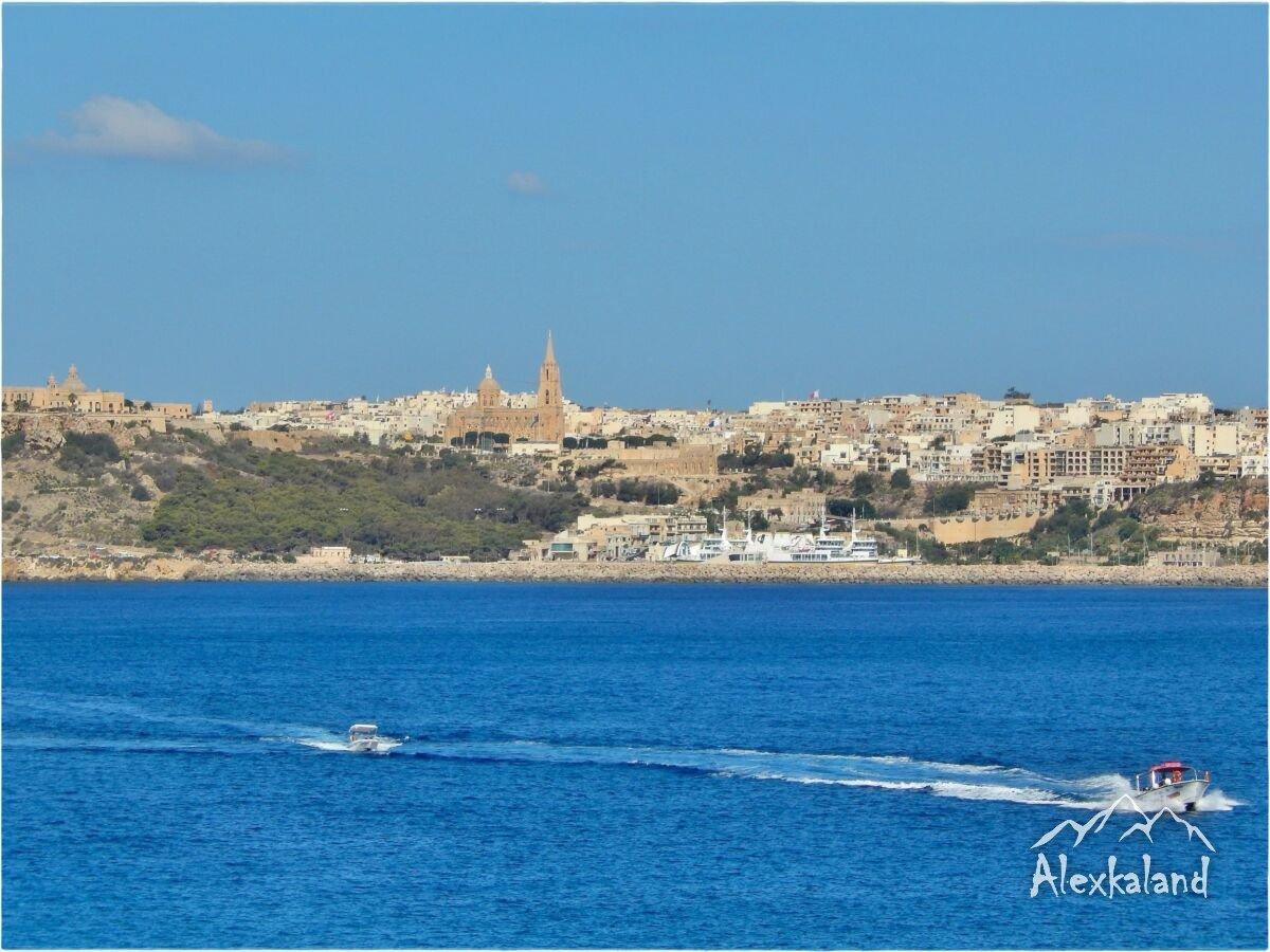 Gozo Mgarr nevű kikötője