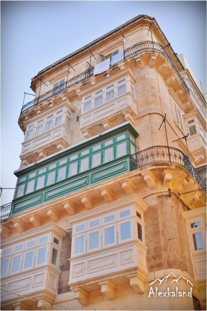 Egy kis Vallettai épület