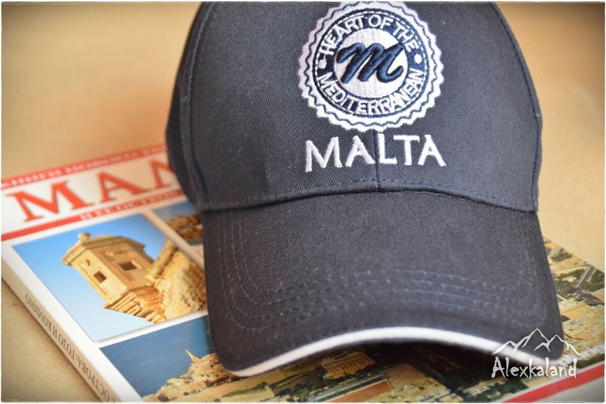 """Vallettai szerzeményem. """"Malta, heart of the the mediterranean"""" vagyis """"Málta, a mediterrán szíve"""""""